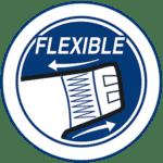flexibele zijkanten voor perfecte aansluiting luiers