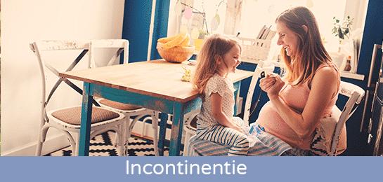 Abena urineverlies tijdens zwangerschap